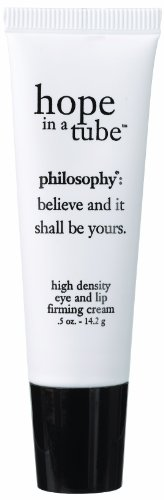 - Philosophy Hope in a Tube Eye and Lip Firming Cream Tube, 0.5 Ounce
