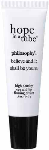 Philosophy Hope in a Tube Eye and Lip Contour Cream Tube, 0.5 Ounce