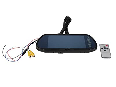 "Szstudio 7"" LCD Screen Car Rear View Backup Parking Mirror Monitor + Camera Night Vision from The Rear View Camera Center"