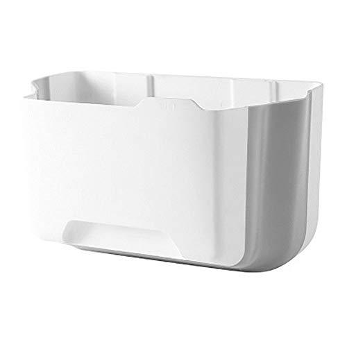 Mülleimer, zusammenklappbar, Wandmontage, für Küche, WC, Badezimmer, Wohnzimmer