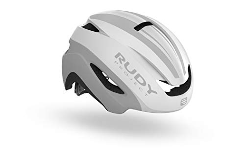- Rudy Project Cycling Helmet - Volantis - White - Silver Matte - Small/Medium
