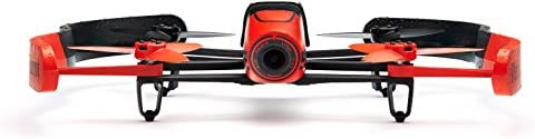 Parrot BeBop Cuadracóptero Drone14 MP Full HD 1080p Cámara con lente de ojo de pez Rojo