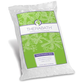 Therabath Professional Paraffin Wax Bath + Foot ComforKit ThermoTherapy Heat Professional Grade TB6 by WR Medical - 24lbs Eucalyptus Rosemary Mint