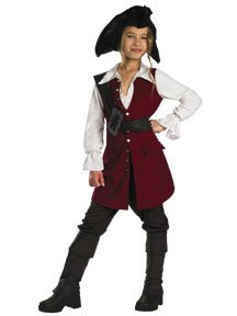 Elizabeth Swann Pirate Deluxe Child -