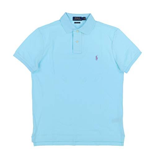 Polo Ralph Lauren Mens Custom Slim Fit Polo Shirt (Small, Soft ()