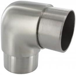 f/ür Rohr 42,4 x 2,0mm Rohrbogen 90/° eng in V4A