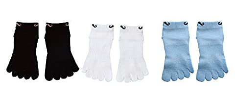 TESOON Cartoon Beard Cotton Toe Socks Kids-Children 3 Pairs 6-11Yrs - Childrens Toe Socks