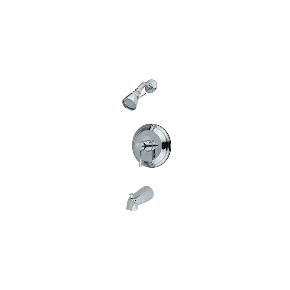 Single Handle Tub and Shower Trim with Single Functi