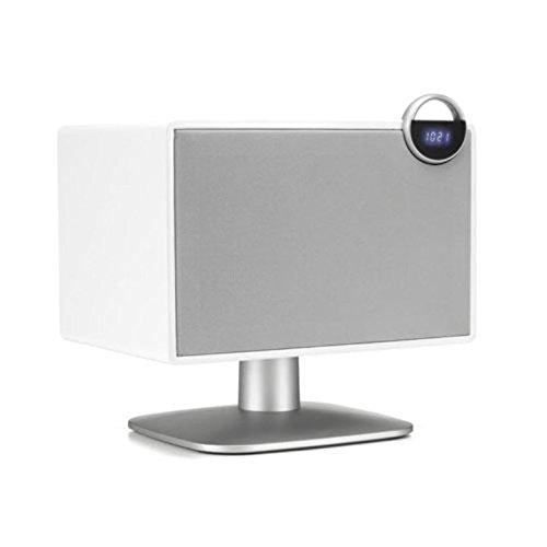 JAMO by Klipsch Speakers | DS-6 | Premium Wireless Bluetooth Speakers/Radio Bluetooth Speaker – Wireless Radio Speaker System, Vintage Speakers, Designer Bookshelf Speakers, PC/Desk (White)