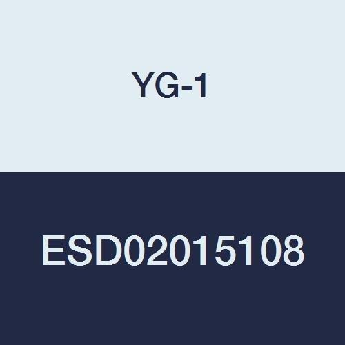 YG-1 ESD02015108 CBN Corner Radius End Mill 2 Flute 8 mm Length Below Shank 1.5 mm