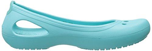 Bleu Crocs aqua Kadee Femme Ballerines FFxwqSAtO