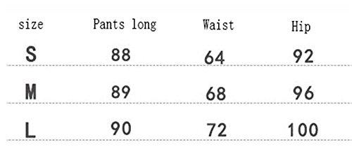 Mujer Senora Pants les 8 Skinny Primavera Cintura clothing con Vaqueros Slim Carrot Aberturas Tejana Alta Chino 7 Jeans Pantalones Jeggings Otoño COCO q80Tx
