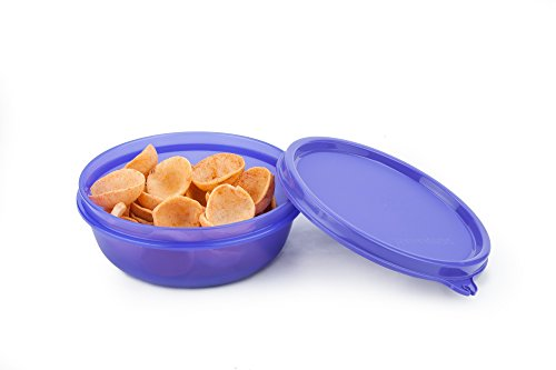 Signoraware Buddy Plastic Bowl Container, 300ml, Violet