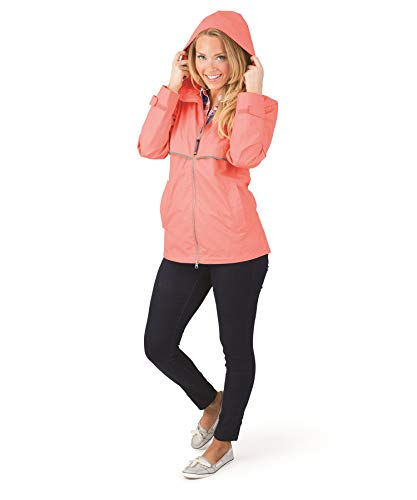 l Women's New Englander Rain Jacket. ()