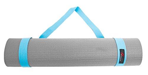 ProSource Yoga Mat Cotton Sling Carry Strap, 60-Inch, Aqua