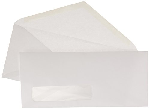 AmazonBasics #10 Envelope, Gummed Seal, White