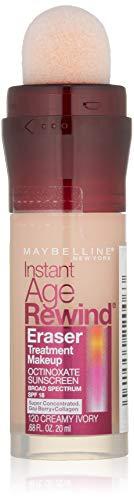 Brightening Concealer - Maybelline Instant Age Rewind Eraser Treatment Makeup, Creamy Ivory, 0.68 fl. oz.