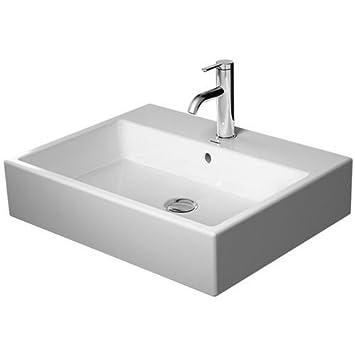Duravit Vero Lavabo Air 600 mm Blanc, WG, 23506000001: Amazon.fr ...