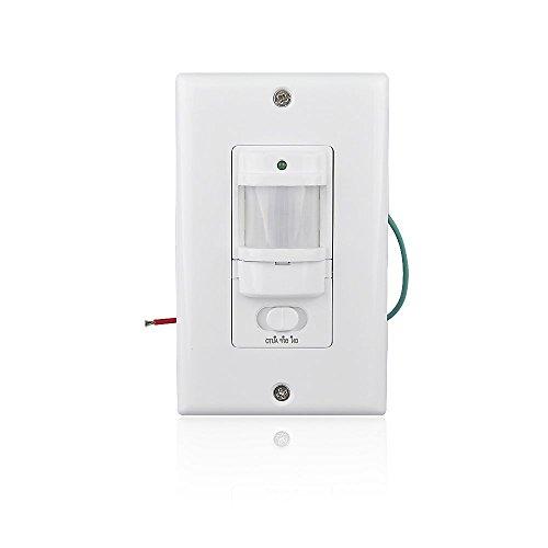 Sensky BS033C (Improved Version) Time-delay (10s-30min) and Light Sensor Adjustable, Occupancy Sensor Switch for...