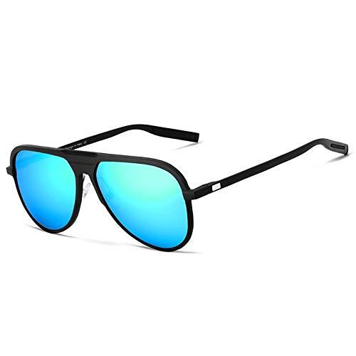 B Hombres Hombres A KOMNY Sol para Polarizado Gafas Clásica Sol Aluminio Marca Mujeres Sol Hombres Oculos Unisex Gafas de UV400 de HD Espejo de G9828 de 44BSqrOn