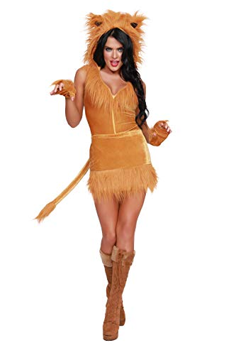 Dreamgirl Women's Queen of The Jungle, Costume,
