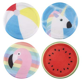 DollarItemDirect Flying Display Giant 17 inches Polyester 4 Assorted Summer Fun Styles 12 pcs PDQ, Case of 12