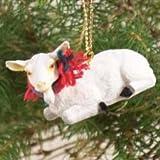 Conversation Concepts Goat White Original Ornament
