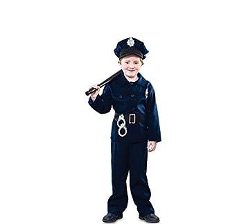 Fyasa 706185-t01 Policía disfraz, tamaño mediano: Amazon.es ...
