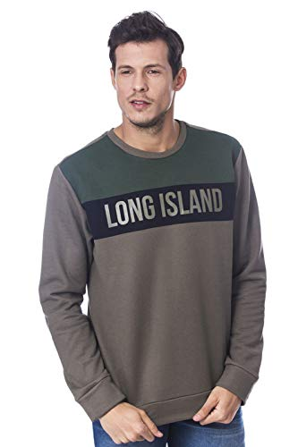 Moletom Long Island Share Verde