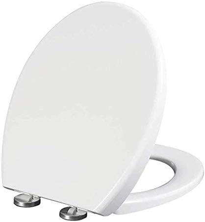 Andou Nk 抗菌スローダウン超薄型ウルトラ耐性便座付き便座U/V型トイレのふた