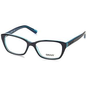 DKNY DY4668 Eyeglass Frames 3685-51 - Navy Teal