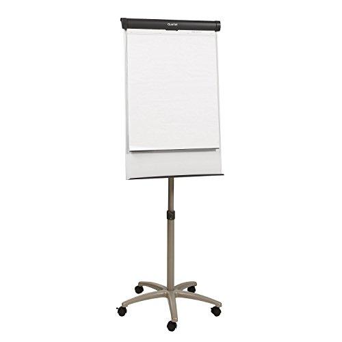 Quartet Easel, Magnetic Whiteboard/Flipchart, 3' x 2', Compass Mobile Presentation, Graphite Frame (ECM32EU) by Quartet