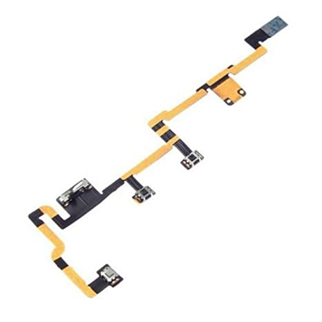 2PCS Power Button On//Off Volume Control Flex Ribbon Cable Part For Apple Ipad 2