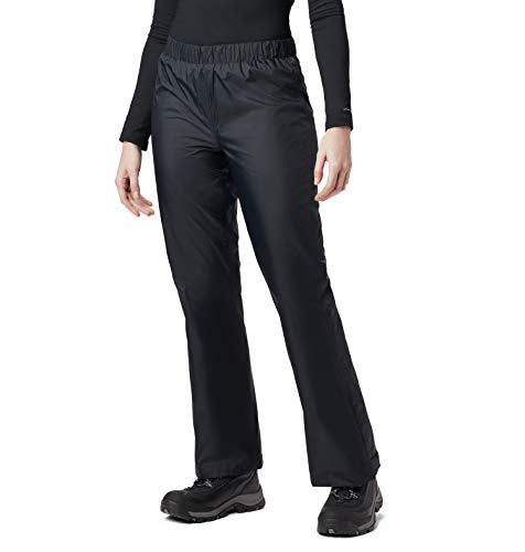 Columbia Women's Storm Surge Waterproof Rain Pant, Black, X-Small x Regular