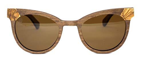 Óculos De Sol De Madeira Elliot, MafiawooD