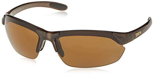 Smith Parallel Max Sunglasses, Brown Frame, Polarized Brown Lenses (Brown Glass Lens)