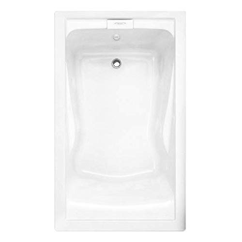 Undermount Soaking Tub - American Standard 2771V002.011 Evolution Deep Soak Bathing Pool, 5-Feet by 36-Inch, Arctic White