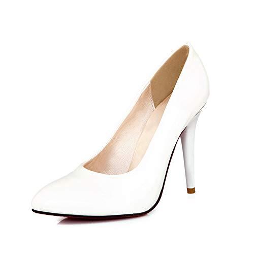 EU Blanc 1TO9 36 Sandales Compensées Blanc Femme Inconnu 5 MMS06093 xfq7zpzB