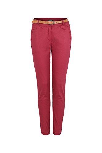 Apparel - Outlet - Pantalón - chino - para mujer burdeos