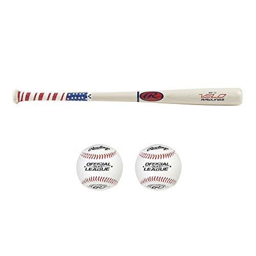Rawlings Velo Ash Wood Youth Baseball Bat (31