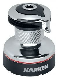 Speed Self Tailing Winch - Harken Radial 2 Speed Chrome Self-Tailing Winch (46.2STC)