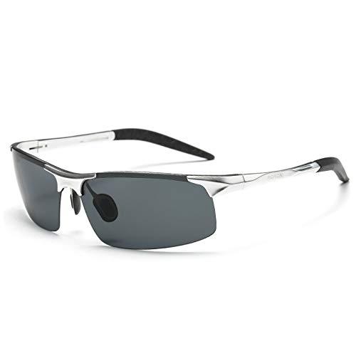 pour E magnésium de Lunettes HD Vision Anti Sport de Reflets Sport Homme Aluminium polarisées sunglasses Lunettes Mjia UV400 Soleil Protection H7IpB