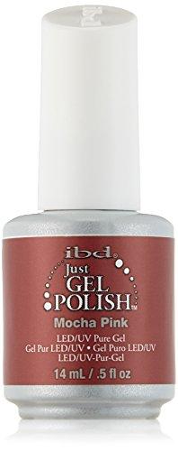 IBD Just Gel Nail Polish, Mocha Pink, 0.5 Fluid Ounce