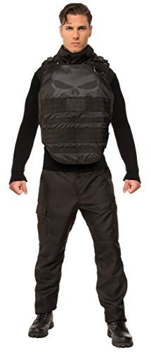 Rubie's Men's Marvel Universe Grand Heritage Punisher Costume, Black, -