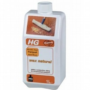 Hg Parquet Wooden Floor Hard Wood Wax Natural 1 Litre P65 Please Note