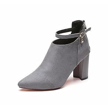 Chaussures automne à talon aiguille à bout pointu Lvxiezi femme y1nv9TwKbV