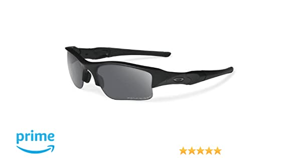 Amazon.com  Oakley US Standard Issue Polarized Flak Jacket XLJ 11-435  Sunglasses Matte Black Frame Grey Polarized Lenses  Sports   Outdoors a8c2e4b5e545