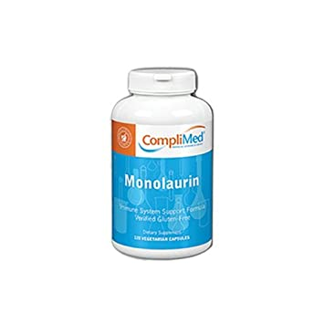 Monolaurin 550 MG [Coplimed] 120 VegiCaps by CompliMed