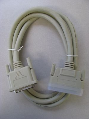 6 Ft 25-Pin DB25 Male to 68-Pin HD68 Male External SCSI Cable SCSI-HD68-DB25-06 by STSI