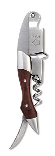 Rabbit Zippity Two-StepWaiter's Corkscrew (Walnut) by Metrokane